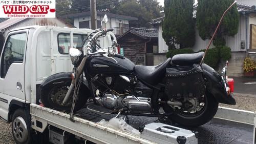 高浜市不動バイク買取(ドラックスター1100)出張買取実績