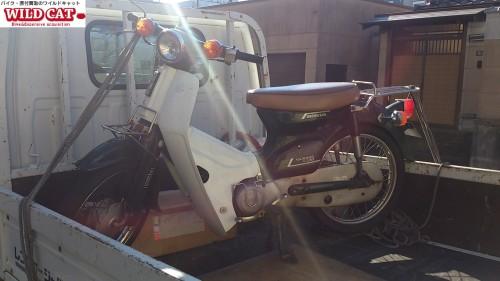 バイク買取(名古屋市東区矢田)スーパーカブ50出張査定