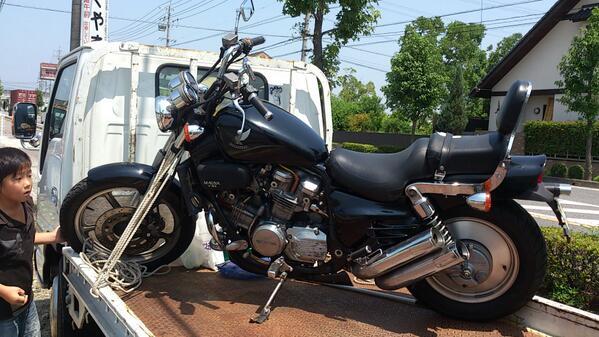 バイク買取V45マグナ25.8.7