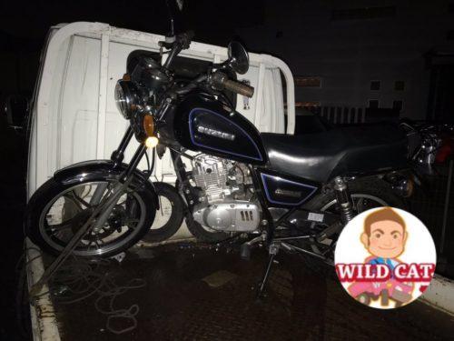 大府市森岡 バイク買取 SUZUKI GN125 過走行 異音