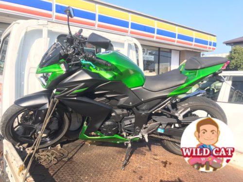 バイク買取 四日市にて Z250 外装リペイント?