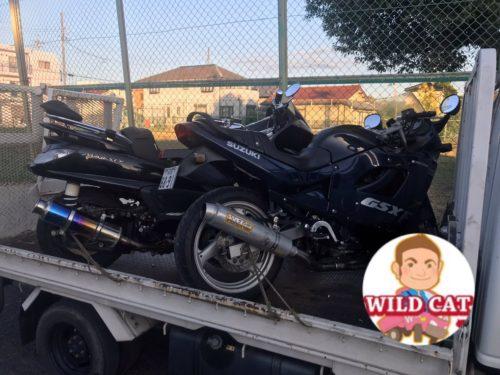 愛知県日進市本郷 バイク買取 二台まとめてGSX F400 グランドマジェステイ